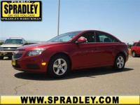 WOW! This is one hot offer! This Chevrolet Cruze gets