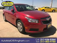 GREAT RIDE and SUPERB FUEL mileage! The CHEVROLET CRUZE
