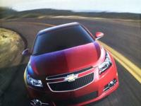 2011 Chevy Cruze dealer brochure featuring all