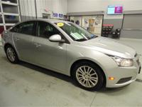 CRUZE ECO, 6 SPEED MANUAL TRANS, ALLOY WHEELS,
