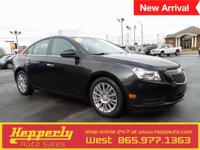 Clean CARFAX. This 2011 Chevrolet Cruze ECO in Gray