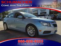 Options:  2011 Chevrolet Cruze 1Fl Lt| |Driver & Front
