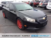 Chevrolet Cruze  Clean CARFAX.  **Accident Free Carfax