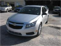 2011 Chevrolet Cruze LS with 6-speed handbook