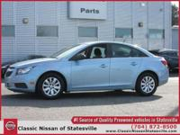 This 2011 Chevrolet Cruze LS is offered to you for sale