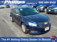 Options:  2011 Chevrolet Cruze Ls|Blue|Talk About A