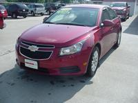 Options Included: N/A2011 Chevrolet Cruze LT 4 Cyl