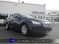 Options:  2011 Chevrolet Cruze 1Lt|Imperial Blue