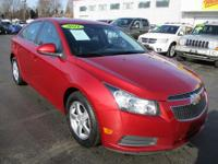 Options:  2011 Chevrolet Cruze 4D Sedan