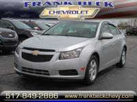 Options:  2011 Chevrolet Cruze Lt|Lt 4Dr Sedan
