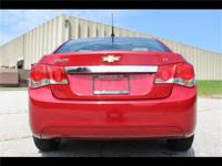 This 2011 Chevy Cruze is the commuters dream! With a