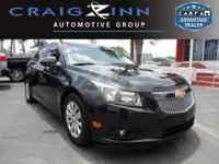 New Arrival! This 2011 Chevrolet Cruze LT w/1LT will