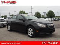 Options:  2011 Chevrolet Cruze Lt|Lt 4Dr Sedan