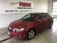 Options:  2011 Chevrolet Cruze 2Lt|Turbocharged! Hurry
