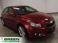 2011 Chevrolet Cruze LTZ RS Crystal Red Metallic