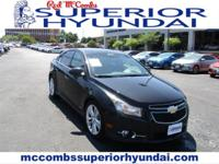 Safe and reliable, this Used 2011 Chevrolet Cruze LTZ