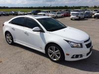 Cruze LTZ RS w/ Moonroof - Leather, 18 Double 5-Spoke