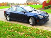 Used one owner, non-smoker 2011 Chevrolet Cruze LS