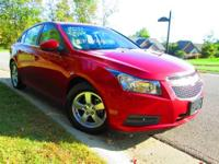 2011 Chevrolet Cruze 2LT in Crystal Red Tintcoat with