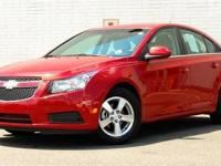 This 2011 Chevrolet CRUZE 4dr 4dr Sdn LT w-2LT Sedan