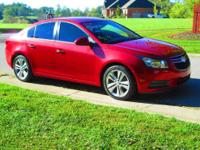 Very sharp, one local owner! 2011 Chevrolet Cruze LTZ