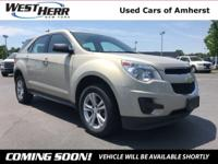 New Price! 2011 Chevrolet Equinox LS Gold Mist Metallic