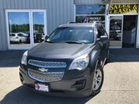 Take command of the road in the 2011 Chevrolet Equinox!