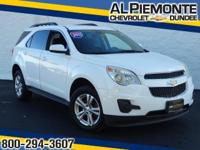 This Summit White 2011 Chevrolet Equinox LT w/1LT with