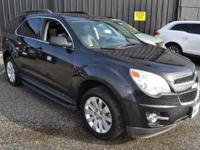 This 2011 Chevrolet Equinox 4dr AWD 4dr LT with 2LT