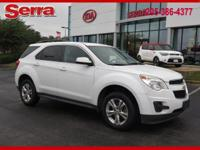 Summit White 2011 Chevrolet Equinox LT 1LT FWD 6-Speed