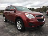 Red 2011 Chevrolet Equinox LT 1LT FWD 6-Speed Automatic