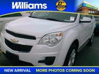 Options:  2011 Chevrolet Equinox Lt White Clean Vehicle