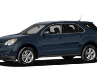 Options:  2011 Chevrolet Equinox 1Lt|Carfax One-Owner.