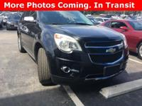 Options:  2011 Chevrolet Equinox Lt|Black|4D Sport