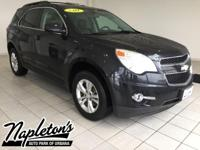 Recent Arrival! 2011 Chevrolet Equinox in Black, AUX