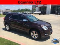 2011 Chevrolet Equinox in Espresso Brown exterior and