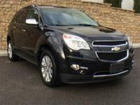 LTZ, AWD, V6, Black Leather Seating CARFAX One-Owner.