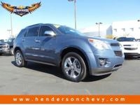 Look at this 2011 Chevrolet Equinox LTZ. Its Automatic