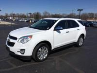 This Chevrolet Equinox is loaded to the gills. It has