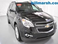 Equinox LT, AWD, Black, Air Conditioning, Heated door
