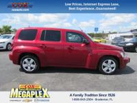 This 2011 Chevrolet HHR LS in Crystal Red Metallic