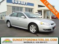 Impala LT, 4D Sedan, 3.5L V6 SFI Flex Fuel, 4-Speed
