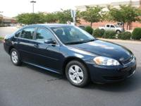 You should see this Blue Blue 2011 Chevrolet Impala LS