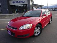 Options:  2011 Chevrolet Impala Lt|Red|Recent Arrival!