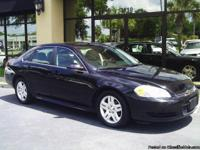 Black Chevrolet Impala LS Package Clean Inside and Out