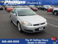 New Price! Silver 2011 Chevrolet Impala LTZ FWD 4-Speed