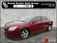 This Chevrolet Malibu is a fresh personal lease return!