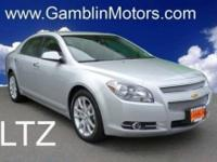 1-Owner Chevy Malibu LTZ! Comes equipped with LEATHER