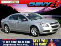 New Price! Silver Ice Metallic 2011 Chevrolet Malibu LS