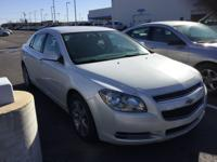 CARFAX One-Owner. Clean CARFAX. White 2011 Chevrolet